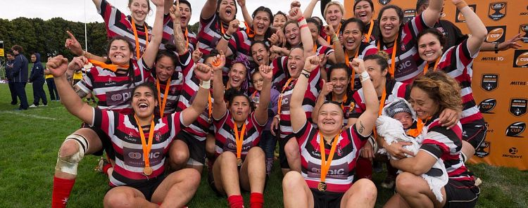 New Sponsor For Championship Winning Counties Manukau Women's Rugby Team