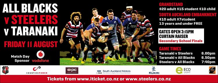 Counties Manukau PIC Steelers 2017 Squad Announced