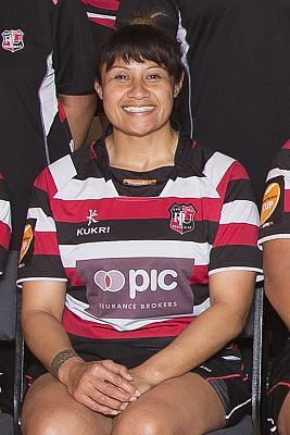 New Womens Rugby Development Officer Cynthia Ta'ala