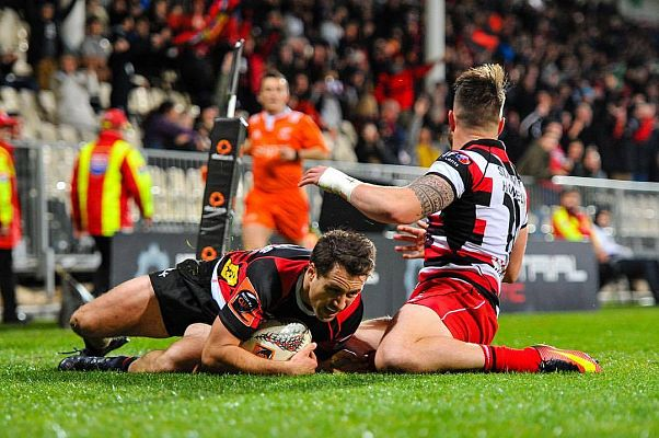 Counties Manukau experienced a tough night in Christchurch