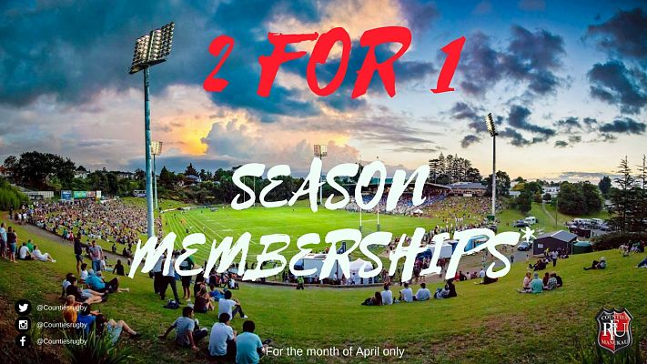 2 for 1 Season Memberships On Sale Now!