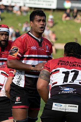 Sikeli Nabou racks up 50 games for the Counties Manukau PIC Steelers