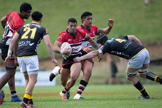Etene Nanai-Seturo resigns with the Counties Manukau PIC Steelers