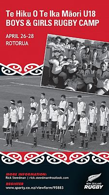 Maori U18 Girls & Boys Rugby Camp