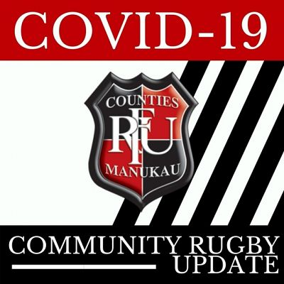 Update for the Counties Manukau Rugby Community - Covid 19